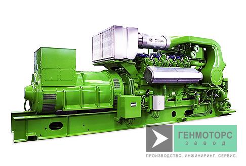 Газопоршневая электростанция (ГПУ) GE Jenbacher J412