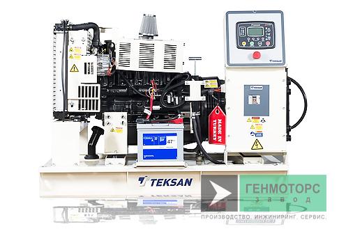 Дизельный генератор (электростанция) Teksan TJ15MC