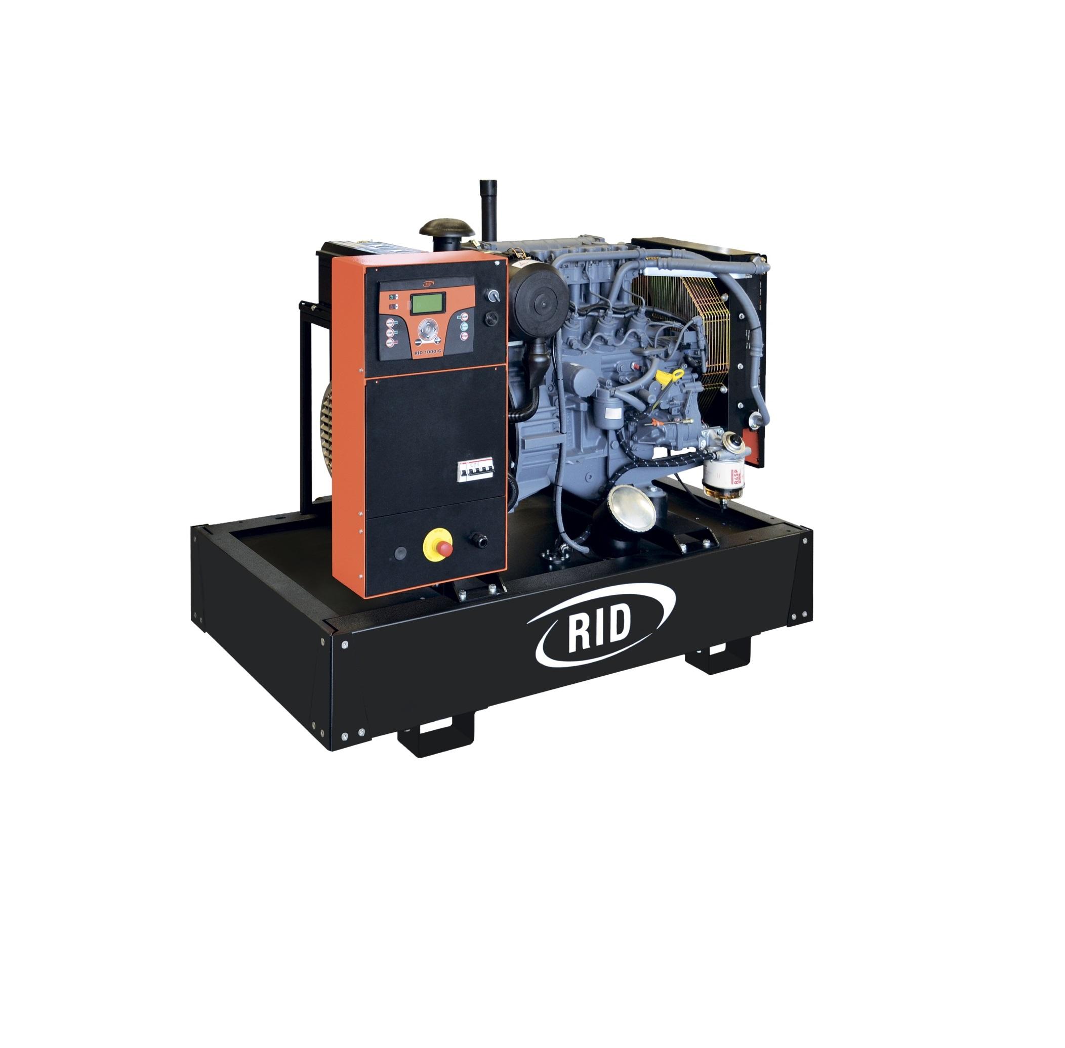 Дизельный генератор (электростанция) RID 15 S-SERIES