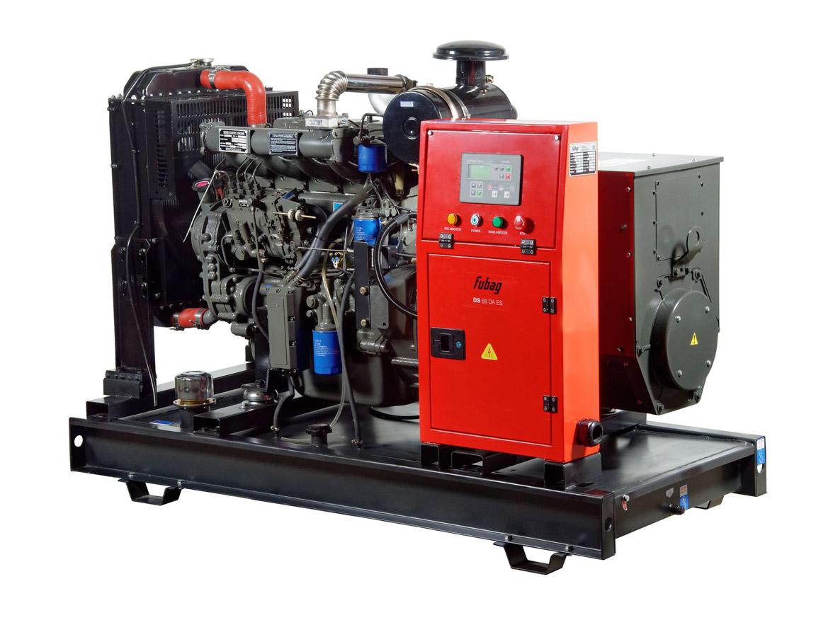 Дизельный генератор (электростанция) FUBAG DS 68 DA ES