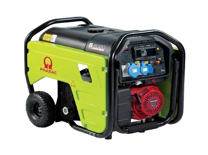 Бензиновый генератор (Бензогенератор) Pramac S8000, 230V, 50Hz #AVR #IPP