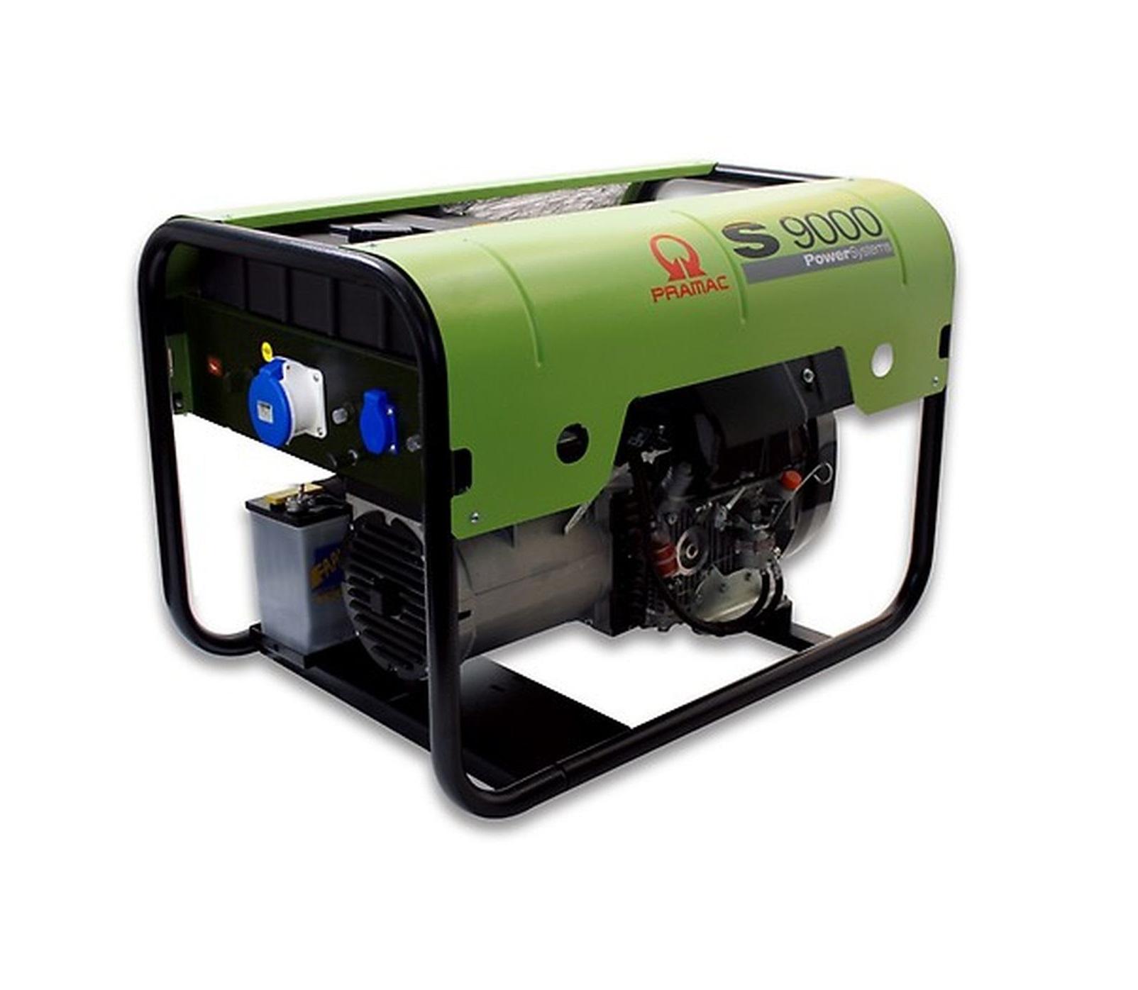 Дизельный генератор (электростанция) Pramac S9000, 400/230V, 50Hz #DPP