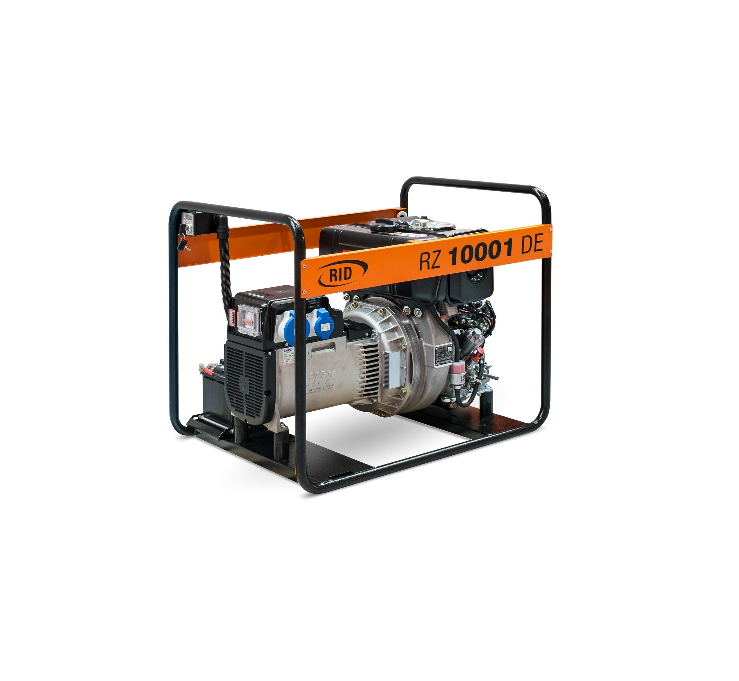 Дизельный генератор (электростанция) RID RZ 10001 DE
