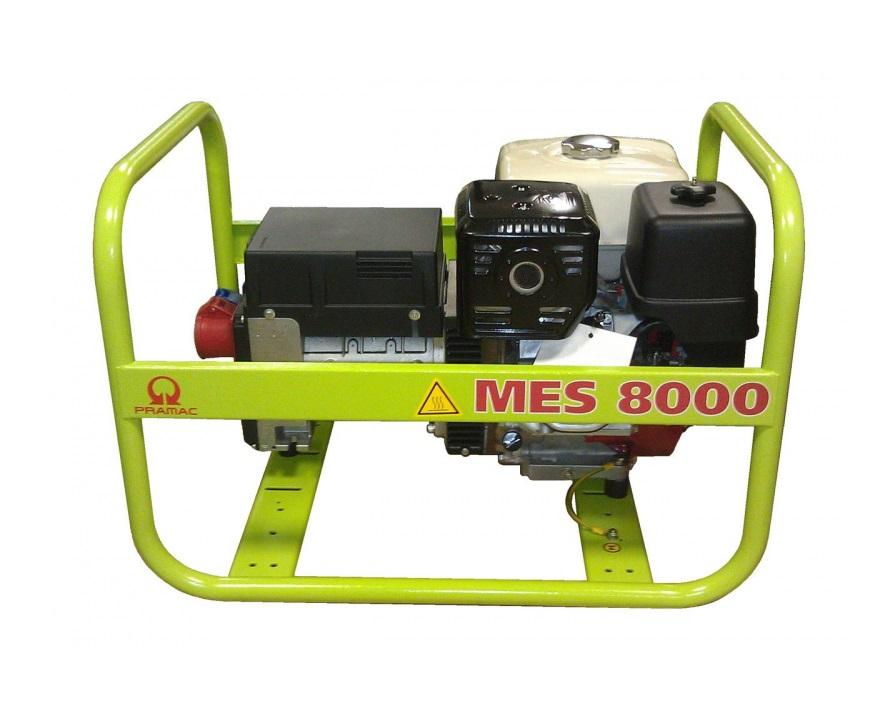 Бензиновый генератор (Бензогенератор) Pramac MES8000, 400/230V, 50Hz