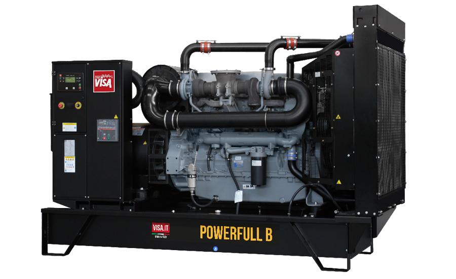 Дизельный генератор (электростанция) Onis Visa F350